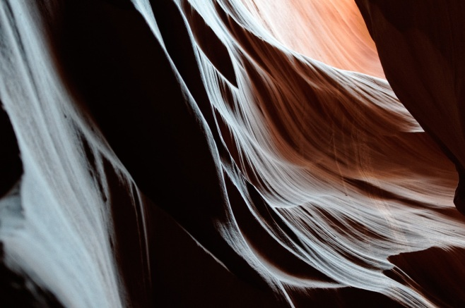 Antelope Canyon detail