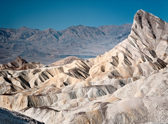 Manly Peak from Zabriskie Point