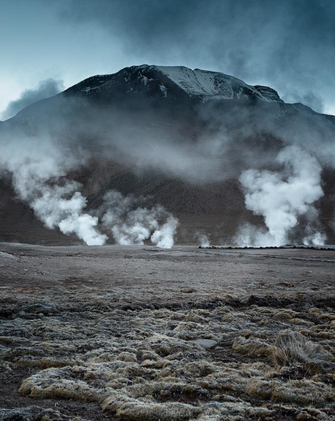 Et Tatio geysers